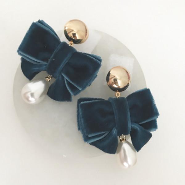 Ohrring Velvet bow
