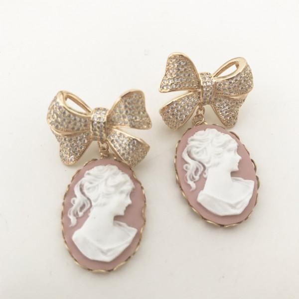 Ohrring vintage pearl